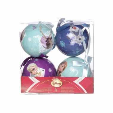 Frozen kerstballen 7,5 cm