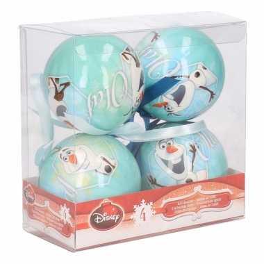 Frozen olaf kerstballen 7,5 cm
