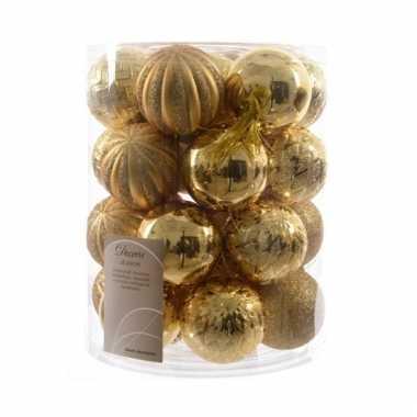 Gouden Kerstboom Kerstballen 30x Goedkope Kerstballen Nl