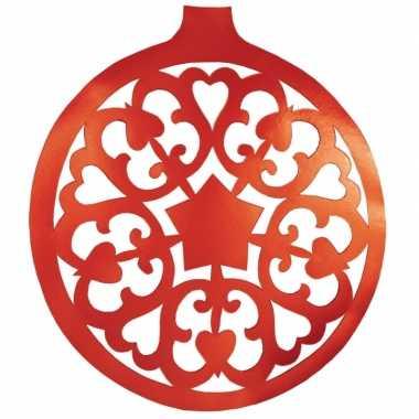 Kerstballen hangdecoratie 32 cm