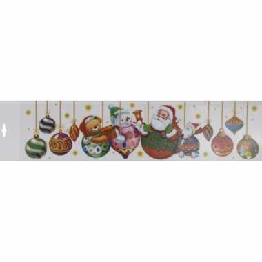 Kerstballen kerststicker