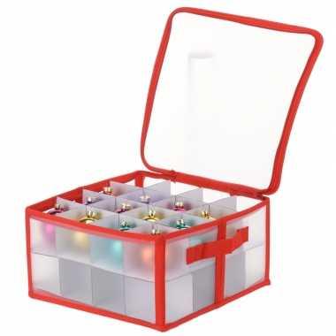 Opbergbox voor kerstballen 30 cm