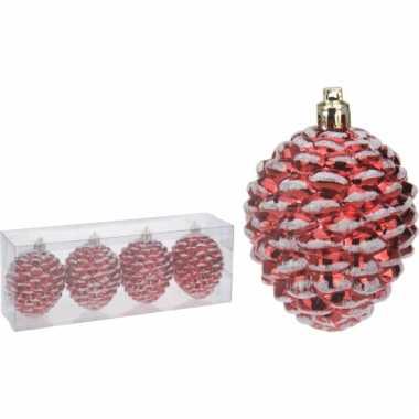 Rode Dennenappels Kerstballen Goedkope Kerstballen Nl