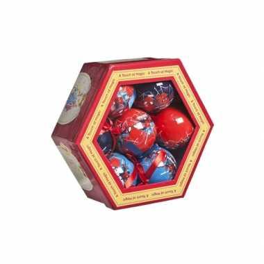 Spiderman kerstballen 7,5 cm